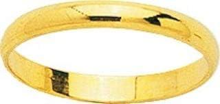 Largeur 2,50 mm Or Jaune 750//1000-18 carats www.diamants-perles.com Mariage AMIRA Alliance