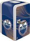 Boelter Brands NHL Edmonton Oilers Portable Party Fridge, 15 Quarts