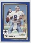 Troy Aikman #40/294 (Football Card) 2001 Score