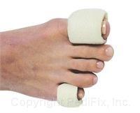 Tubular Foam (Pedifix Tubular-Foam Toe Bandages -#P337 - Large - Pack of 3)