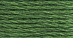 Bulk Buy: DMC Thread Six Strand Embroidery Cotton 8.7 Yards Dark Pistachio Green 117-367 (12-Pack)