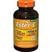 (Ester C With Bioflavonoids Bogo 1000 mg - 180 Caps Total)