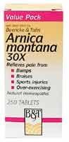 Boericke & Tafel - Arnica Montana 3, 250 tablets