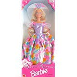 SWEET MAGNOLIA BARBIE DOLL w Sun HAT & UMBRELLA Wal*Mart SPECIAL EDITION ()