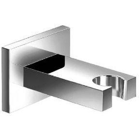 Isenberg 160.8005CP Universal Fixtures Hand Shower Holder - Square, 160.8005, Polished Chrome