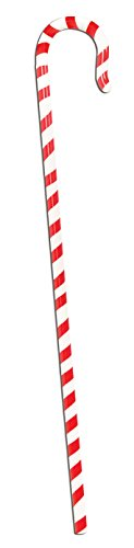 Candy Cane Costume Men (Candy Cane Walking Stick Adult Costume Accessory)