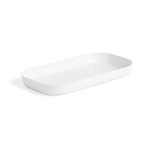 Umbra Vana Amenity Tray, White by Umbra