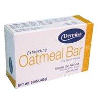 Dermisa Soap Exfoliating Oatmeal 3 Ounce (88ml) (Dermisa Exfoliating Oatmeal)