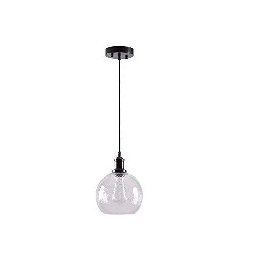 Clear Bubble Glass Pendant Light