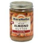 Maranatha Natural Foods Crunchy Almond Butter, 12 Ounce -- 12 per case.