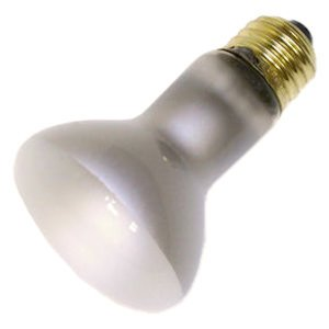 (Satco S8519 R20 Reflector Incandescent Lamp 45 Watt E26 Medium Base 280 Lumens)