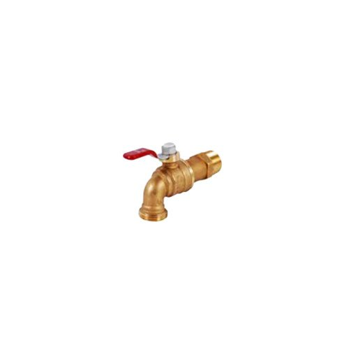 T-540 3/4 inch Forged Brass Water Heater Drain Ball Valve w/ Lever Handle (Lever Ball Valve)