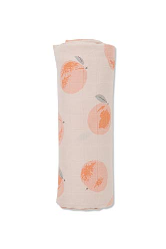 Angel Dear Luxurious Soft Swaddle Baby Blanket, Peachy, Large -