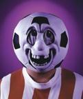 Morris Costumes Soccer Game Face Full Head Mask