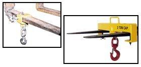 Vestil Mfg. Co., Hoisting Hooks, Hd-Fork-4, Fork Pocket Size: 2-3/4