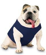 Doggie Skins 3902 Baby Pet Rib Tank, Navy, 2XL