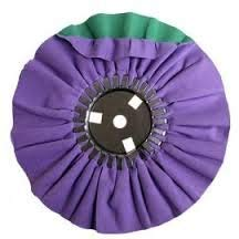 Zephyr AWP 58-8 SC Purple/Green Smooth Cut Airway Buffing Wheel