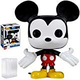 Funko Pop! Disney: Mickey Mouse Vinyl Figure (Bundled with Pop Box Protector Case)