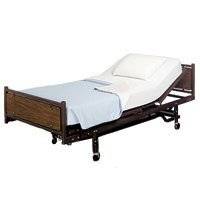 Invacare Sleep-Knit Fitted Hospital Bed Sheets and Pillow...