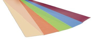 - REP Band Twin-Pak - latex-free - 100 yard 5 piece set (2 x 50 yard boxes of each color: peach, orange, lime, blueberry, plum)