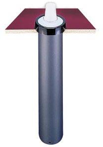 San Jamar C2210C In-Counter Euro EZ-Fit Cup Dispenser, Fits 6 to 24 oz. paper/plastic/foam cups C2210C