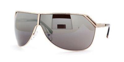 Valentino 5550 Rose Gold / Brown Fl Mir Sh Sunglasses ()