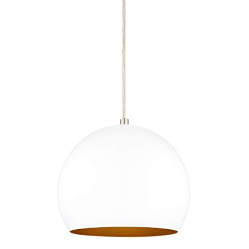 Rollino Pendant Light White Pendant Lighting for Kitchen Island LL-P408-10WH