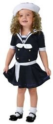 Sea Sweetie Costume - Small (Sailor Costume For Kids)