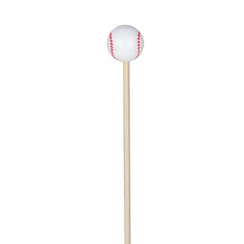 Baseball Appetizer or Sandwich Picks / Swizzle Stick - 4 3/4