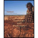 Human Evolution and Prehistory, Haviland, William A., 0534610110