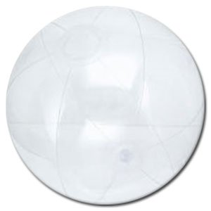 (Beachballs - 16'' Clear Beach)