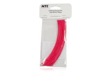 3//32 Diameter 3//32 Diameter 6 Length Inc. Thin Wall Pack of 30 Red 2:1 Shrink Ratio NTE Electronics 47-20206-R Heat Shrink Tubing 6 Length