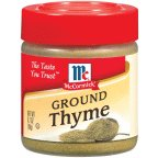 McCormick Ground Thyme .7OZ (Pack of 18)