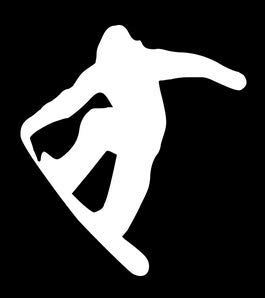 Home Grown Claremore Snowboard - Vinyl Decal Sticker - Multiple Colors (White)