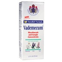 Vademecum mouthwash and gargle concentrate - 2.5 oz