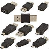 mini Changer Adapter Converter USB Male to Female Micro USB  ()