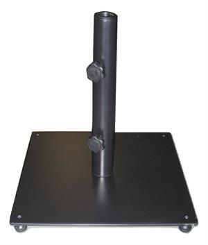 MJJ Sales, 37lb Enameled Steel Patio Umbrella Base-Black by MJJ Sales
