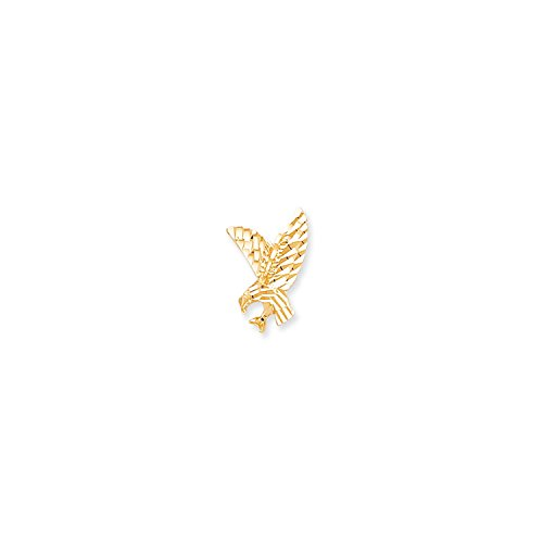 Roy Rose Jewelry 10K Yellow Gold Eagle - Gold Eagle Pendant 10k