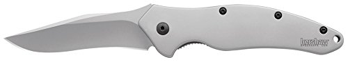 Kershaw 1840 Shallot, Stainless Handle, Plain Blade