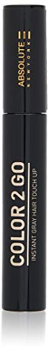 Absolute New York Color 2 Go Instant Gray Hair Touch up Mascara -HM 01/Black