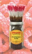Wild Berry Incense Inc. Raspberry Rose Incense-15 Sticks