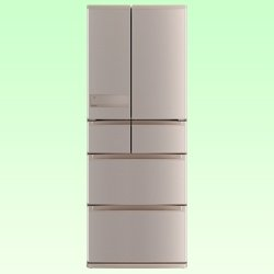 三菱 475L 6ドア冷蔵庫(ローズゴールド)MITSUBISHI 置けるスマート大容量 切れちゃう瞬冷凍 MR-JX48LY-N