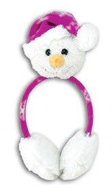 Holiday Earmuffs Plush -