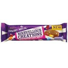 (Cadbury Dairy Milk Marvellous Creations Jelly Popping Candy Shells 12x47g)