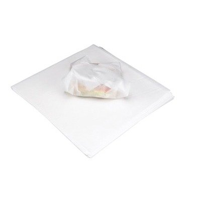 18 x 18 Deliwrap Dry Waxed Paper Flat Sheets in White by Marcal