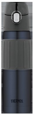 Thermos 2465MBTRI6 Water Bottle, Midnight Blue, 18-oz. - Qua