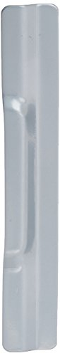 Don-Jo NLP-210 12 Gauge Steel Narrow Commercial Type Latch Protector, Silver Coated, 1-1/2'' Width x 10'' Height, For Outswinging Doors (Pack of 10) by Don-Jo