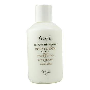 Fresh Lotion Lemon Body Sugar (Fresh Citron De Vigne Body Lotion, 10 Ounce)