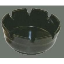 h Tray Pack of 12 (2-Pack) (Black Plastic Ashtray)