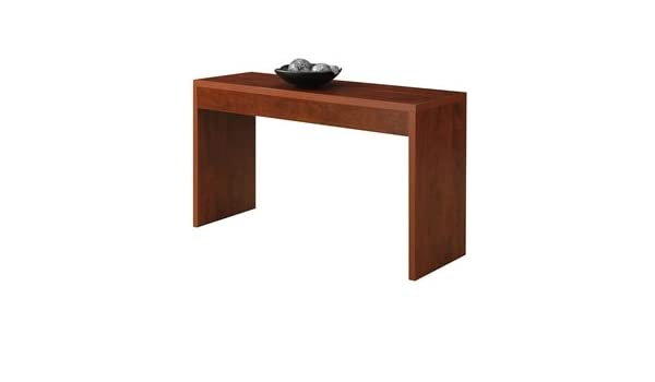 Tremendous Amazon Com Lordbee Cherry Finish New Modern Chic Sofa Table Interior Design Ideas Inesswwsoteloinfo